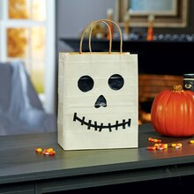 Duck Tape® Glow in the Dark Skeleton Treat Bag